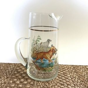 VTG RARE Golden Retriever English Setter Pitcher